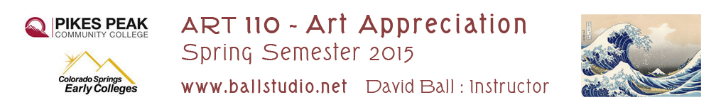 ART 110 Spring 2015 - Completed